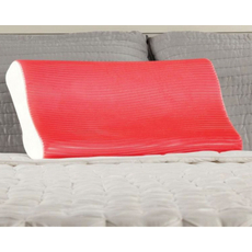 Sealy Red Gel Contour Pillow by Comfort Revolution