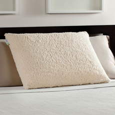 Sherpa Memory Foam Luxury Bed Pillow by Comfort Revolution