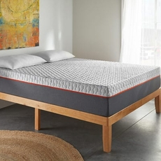 Twin XL Corsicana Early Bird 10 Inch Memory Foam Bed in a Box Plush Mattress