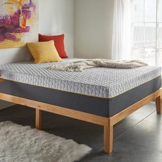 Full Corsicana Early Bird 12 Inch Memory Foam Bed in a Box Plush Mattress
