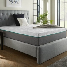 Queen Corsicana Renue Copper 12 Inch Hybrid Medium Mattress