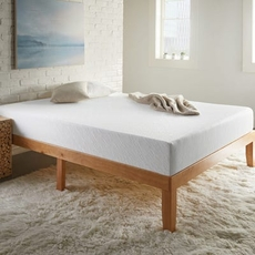 Queen Corsicana Sleep Inc 8 Inch Memory Foam Bed in a Box Medium Firm Mattress