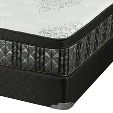 Full Corsicana Sleep Inc 8535 Fitzgerald Euro Top Mattress