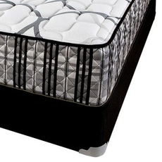Queen Corsicana Sleep Inc 8540 Fitzgerald Silver Firm Mattress