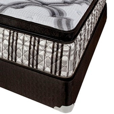 Cal King Corsicana Sleep Inc 8580 Kennedy Pillow Top 15.5 Inch Mattress