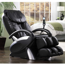 Cozzia Shiatsu Massage Chair 16020 in Black