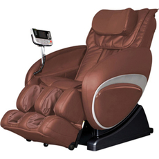 Cozzia Shiatsu Massage Chair 16027 in Brown