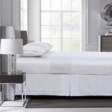 Daniadown Luxe White Sheet Set