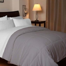 Design Weave Outlast Temperature Regulating King Comforter in Stone