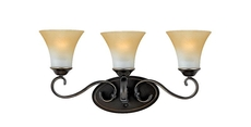 Clearance Quoizel Duchess 3-Light Bath Fixture OVFCR121799