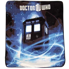 Clearance Doctor Who Gallifrey Throw in Blue OVLB0818004