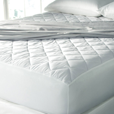 Sealy Posturepedic Egyptian Cotton Waterproof Mattress Pad by DOWNLITE
