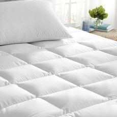 Downright 600 White Goose Down King Mattress Topper