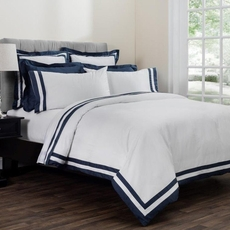 Downright Vilanova Full Duvet in Hale Navy