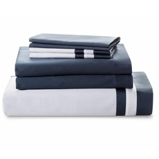 Downright Vilanova 4 Piece Full Sheet Set in Harbor Grey