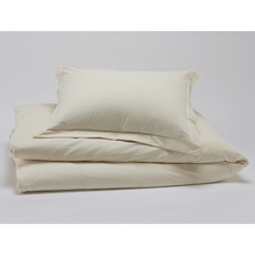 Dreamtex Organics 2 Piece Twin Duvet Cover Set in Natural