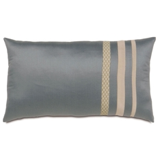 Niche by Eastern Accents Dempsey Witcoff Slate Boudoir Pillow