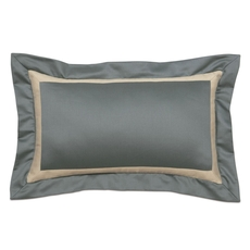 Niche by Eastern Accents Dempsey Witcoff Slate Mitered Boudoir Pillow