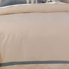 Niche by Eastern Accents Dempsey Witcoff Taupe Daybed Duvet Cover