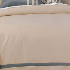 Niche by Eastern Accents Dempsey Witcoff Taupe Duvet Cover