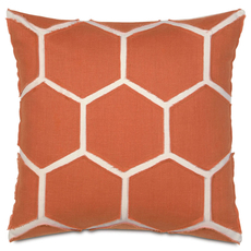 Niche by Eastern Accents Gavin Breeze Tangerine Accent Pillow