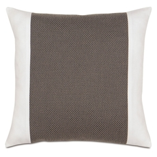 Niche by Eastern Accents Davis Crosby Charcoal Insert Pillow