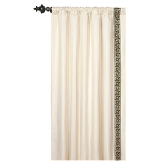 Abernathy Folly Parchment Curtain Panel by Eastern Accents