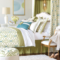 Bradshaw Button-Tufted Comforter by Eastern Accents