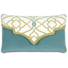 Bradshaw Envelope Accent Pillow by Eastern Accents