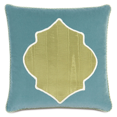 Bradshaw Pearl Apple Insert Accent Pillow by Eastern Accents