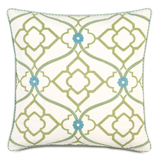 Bradshaw with Cord Accent Pillow by Eastern Accents
