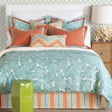 Capri Hand-Tacked Comforter by Eastern Accents