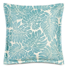 Capri with Self Flange Accent Pillow by Eastern Accents