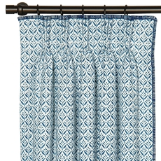 Ceylon Kari Iris Curtain Panel by Eastern Accents
