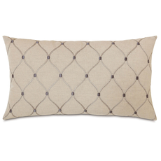 Edith Branson Ivy Knife Edge Accent Pillow by Eastern Accents