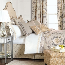 Edith Button-Tufted Comforter by Eastern Accents