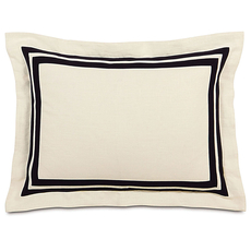 Evelyn Breeze Pearl Standard Sham by Eastern Accents