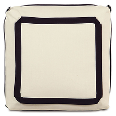 Evelyn Breeze Pearl with Turkish Corners Accent Pillow by Eastern Accents