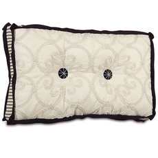 Evelyn Desiree Pearl Tufted Accent Pillow by Eastern Accents