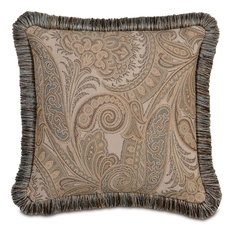 Powell with Brush Fringe Accent Pillow by Eastern Accents