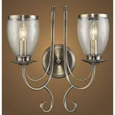 Clearance Elk Lighting Yorkshire Manor 2 Light Sconce OVFCR121775