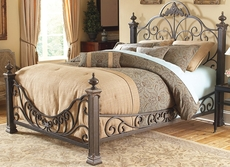 Fashion Bed Group Baroque Complete Bed
