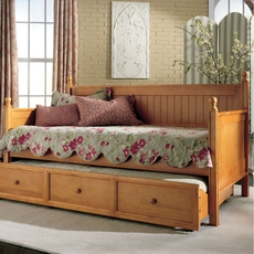 Fashion Bed Group Casey Daybed in Honey Maple