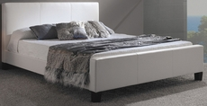 Fashion Bed Group Euro Platform Bed in White
