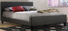Fashion Bed Group Euro Platform Bed in Black