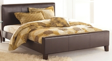 Fashion Bed Group Euro Platform Bed in Sable