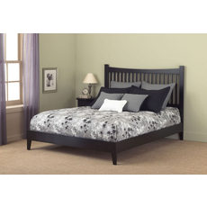 Fashion Bed Group Jakarta Platform Bed in Black