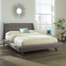 Fashion Bed Group Prelude King Size Bed in Ash