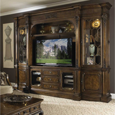 Clearance Fine Furniture Design Belvedere Entertainment Wall