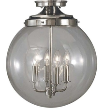 Clearance Framburg Lighting Moderne Flush Mount OVFCR121777